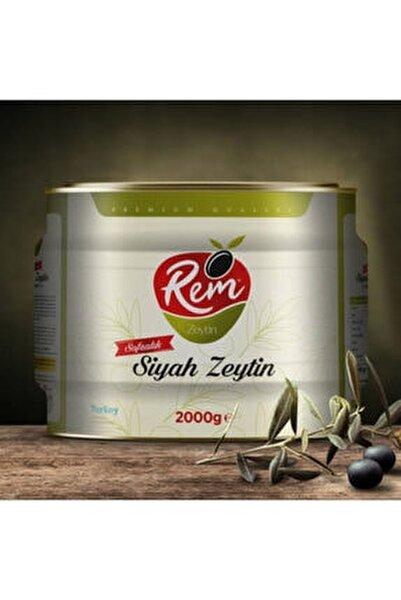 2000 gr Sofralık Siyah Zeytin (201 – 230 Klb) – Teneke