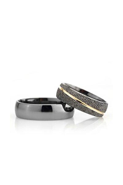 Gümüşcüm Bombeli Effect Modeli Kadın Gümüş Alyans Nişan Yüzüğü