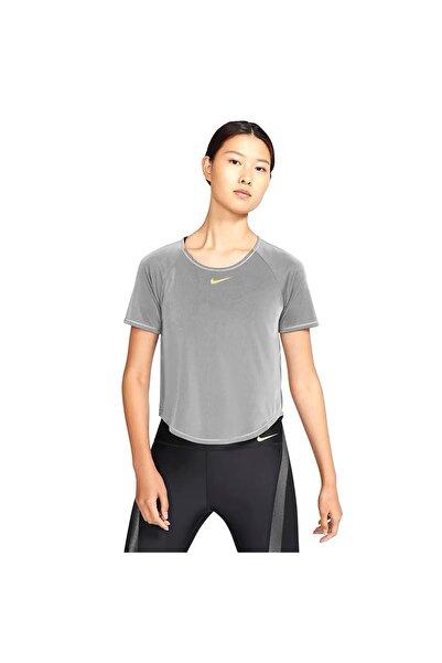 Nike Kadın Gri  Koşu Üst Cu3345-010 Icon Clash