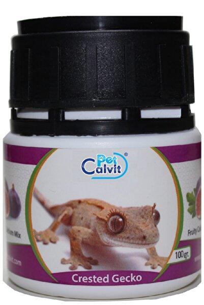 Petcalvit Crested Gecko Meyveli Kalsiyum Tozu 100 gr