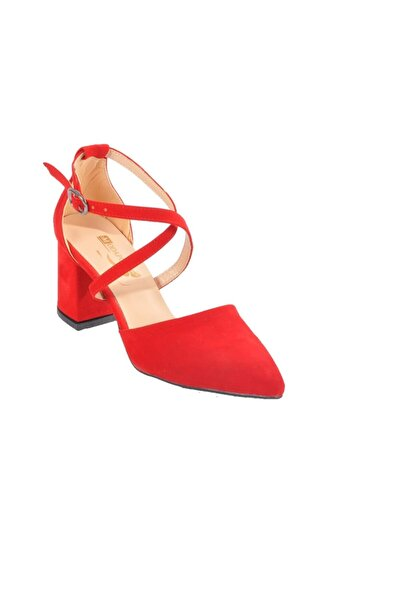 Maje Kadın Kırmızı Topuklu Ayakkabı