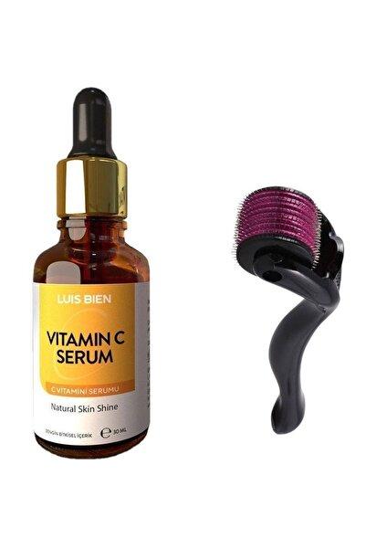 Luis Bien C Vitamini Serum Seti 30 ml + Dermaroller 0,5 Mm