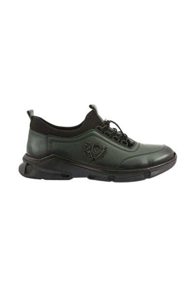Pierre Cardin Erkek Yeşil Sneakers Ayakkabı S021sz033.cs1.646602-1-sk20