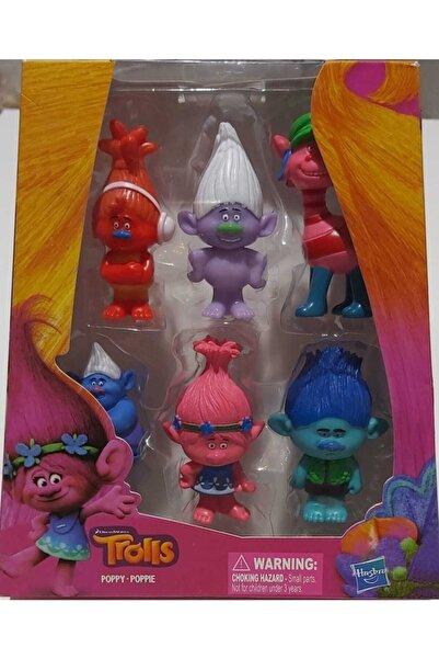 Trolls Poppy Poppıe Oyuncak Seti 5 Li