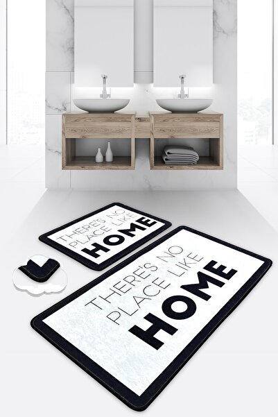 Chilai Home Like Home Djt 2 Li Set Banyo Halısı Paspas Seti
