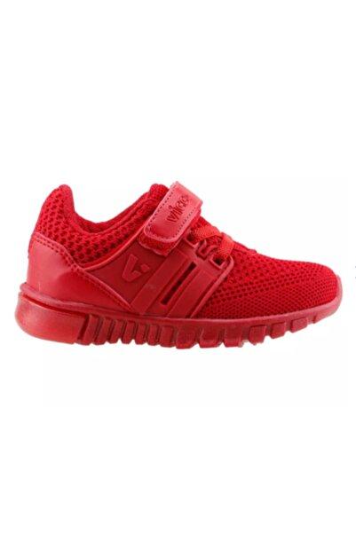 Vicco Unisex Işıklı Spor Ayakkabı Kırmızı