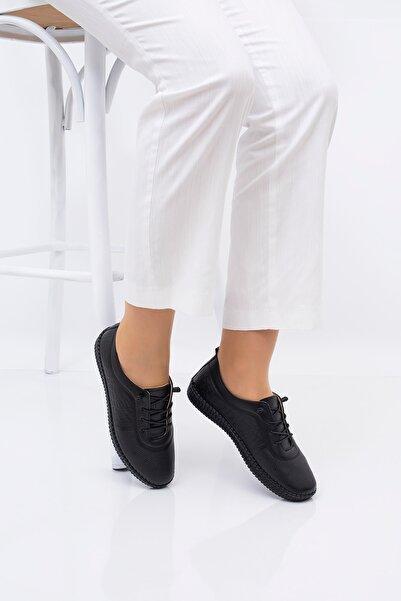 CARIK COMFORT Tabana Dikiş Özellikli Tam Ortopedik Kadın Ayakkabısı