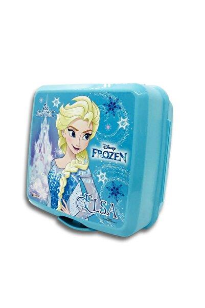 Hakan Çanta Mavi Renk Iki Gözlü Beslenme Kabı Frozen Elsa 97821