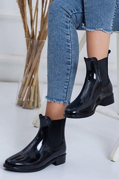 AKINAL Pınar Siyah Yağmur Botu