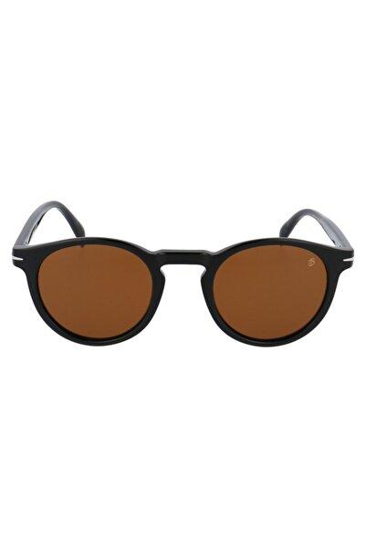 David Beckham Unisex Kahverengi 49 Ekartman Güneş Gözlüğü