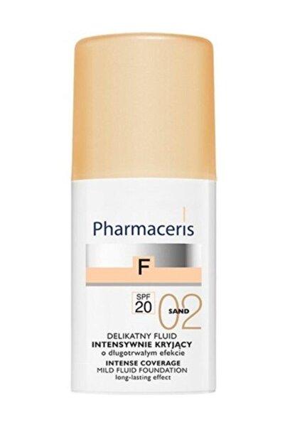Pharmaceris Pharma-ceris Yumuşak Sıvı Fondöten Spf 20 02 Sand Yoğun Kapatıcı Hacim: 30 ml