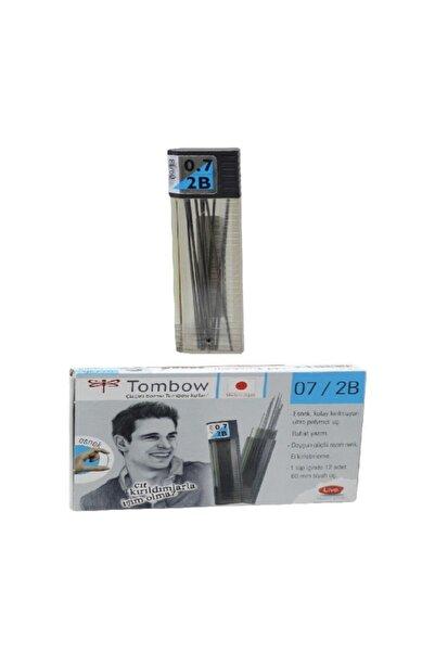 Tombow Min 0,7 Mm 2b Versatil Kalem Ucu Klasik 12 Li (1 Paket 12 Tüp)