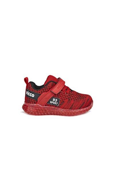 Vicco Alfa Unisex Çocuk Kırmızı Spor Ayakkabı