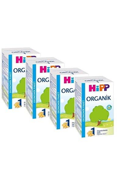 Hipp 1 Organik Bebek Sütü 600 gr 4'lü