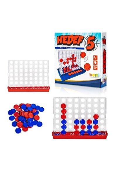 BEMİ Hedef 5 - Beceri Eğitici Zeka Strateji Çocuk Ve Aile Oyunu - Lüks Kutu Oyunu