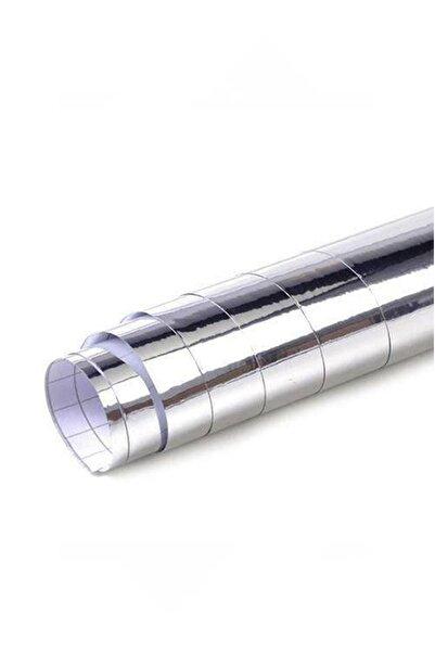 AUTOFOLYO Krom Gümüş Varak Folyo Yapışkanlı 100 Cm X 1 Metre