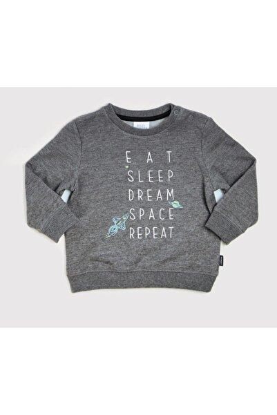 Wonder Kıds Erkek Bebek Gri Sweatshirt