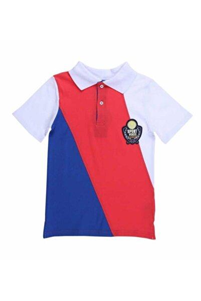 Wonder Kıds Erkek Çocuk Beyaz Polo Yaka T-shirt Wk15s3011-c