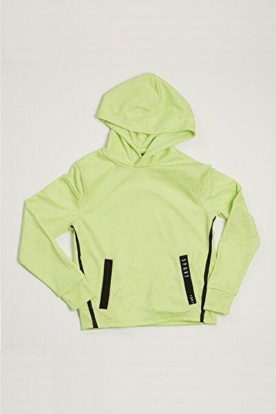 Wonder Kıds Wonder Kids Erkek Çocuk Yeşil Neon Kapüşonlu Sweatshirt Mk20aw5017