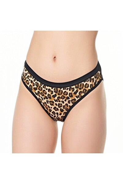 Tutku 3'lü Paket Leopar Desenli Bikini