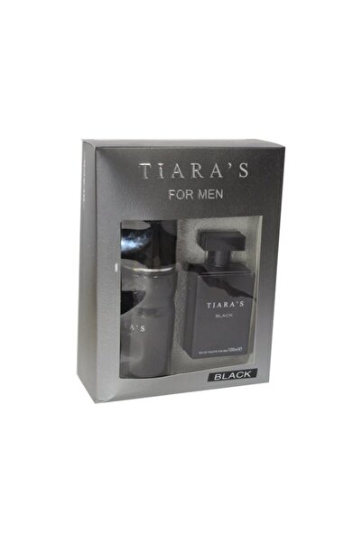 Tiaras Tıaras Edt+deo 100ml Black Kofre