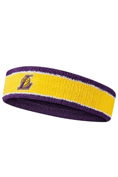 Nike Nba Headband La Lakers Amaririllo (n.100.0535.747.os)