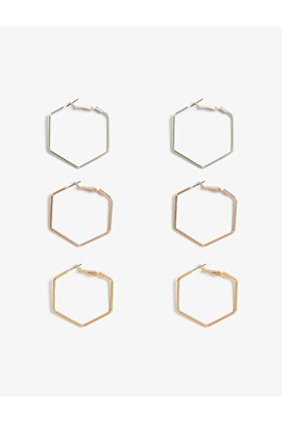 Koton Geometrik Küpe Seti