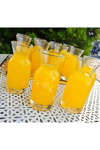 Paşabahçe 6 Lı Limonata Süt Meşrubat Karaf Bardak