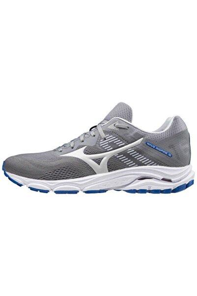 MIZUNO Erkek  Wave Inspire 16 Koşu Ayakkabısı Gri
