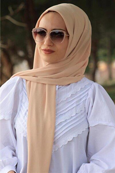 Karaca Kadın Nano Krep Şifon Şal