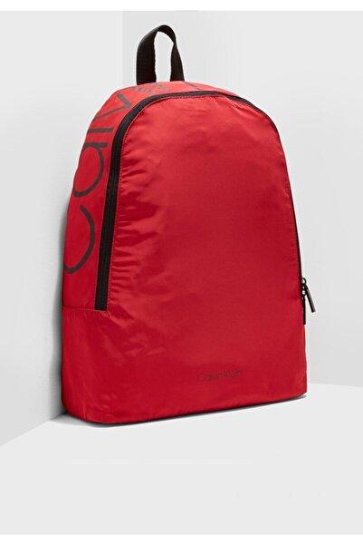 Calvin Klein Unisex Kırmızı Sırt Çantası