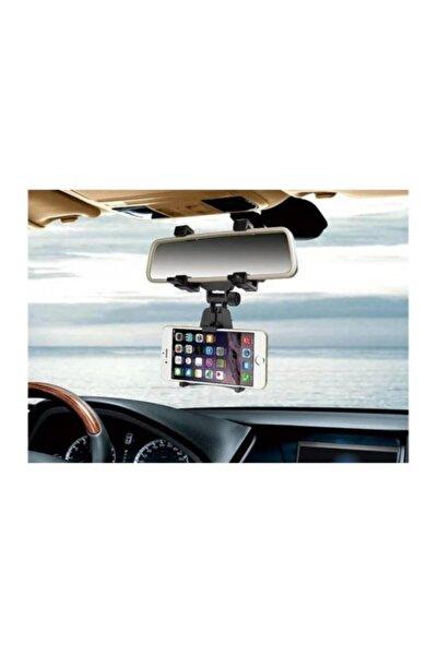 Koklea Home Araba Dikiz Aynasına Takılan Oto Araç Içi Telefon Tutucu Aparat Cep Telefonu Tutacağı