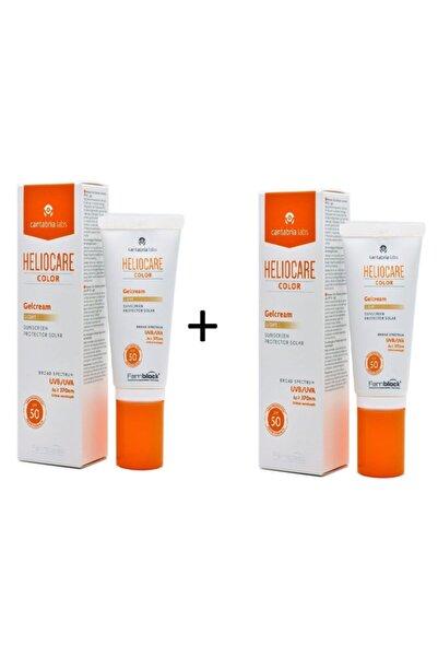 Heliocare Color Gelcream Light Renkli Güneş Kremi Spf 50 50 ml | 2 Kutulu Set