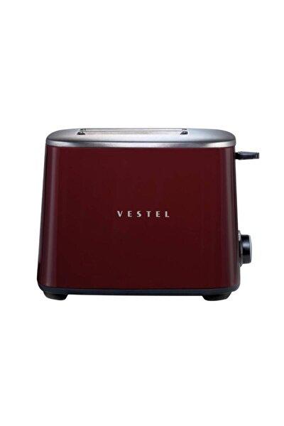 Vestel Retro Bordo Ekmek Kızartma Makinesi