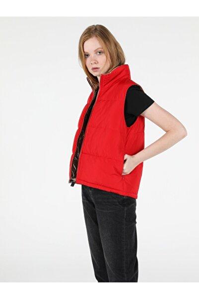 Colin's KADIN Regular Fit Kadın Kırmızı Yelek CL1051064
