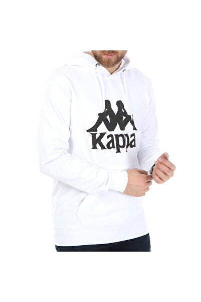 Kappa Kapüşonlu Sw-shirt Hurdato Beyaz