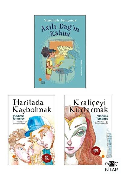 Günışığı Kitaplığı Tumanov 3 Kitap Set Haritada Kaybolmak Kraliçeyi Kurtarmak Asılı Dağın Kahini