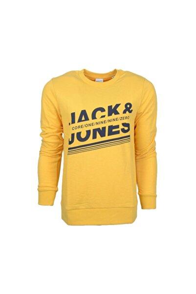 Jack & Jones JCOCHILLOX SWEAT CREW NEC Sarı Erkek Sweatshirt 101057597