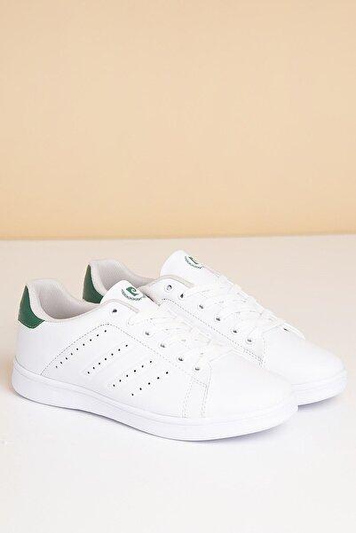 Pierre Cardin Beyaz-yesil Kadın Yürüyüş Ayakkabısı Pcs-10144-16780175