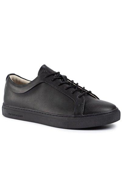 Jack & Jones Erkek Siyah Renk Günlük Deri Ayakkabı 12159607