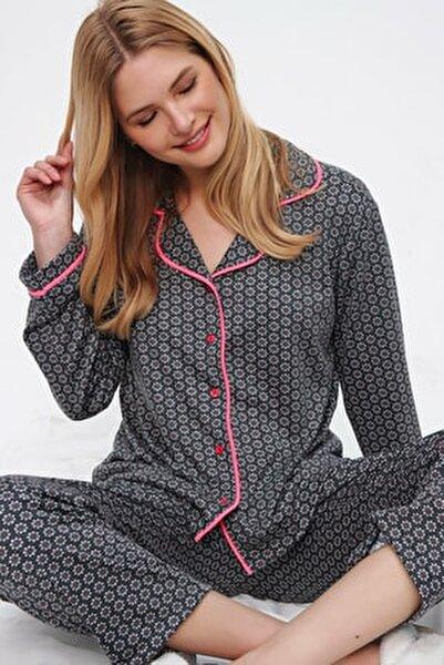 Trend Alaçatı Stili Pijama Takımı