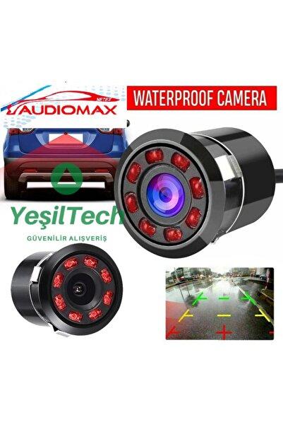 AUDİOMAX Yeşiltech Mx-30 Gece Görüşlü Geri Görüş Kamerası Ir Infraredledli Gece Görüş Park Çizgili