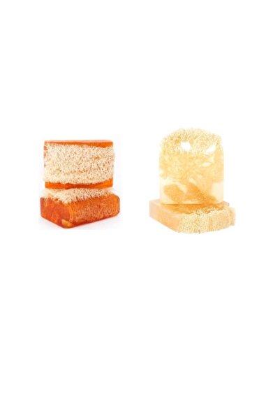 The Soap Factory Dogal Kabak Lifli Bal Ve Sütlü Sabun & Hindistan Cevizi Yağlı ( 2 Li Kampanya)