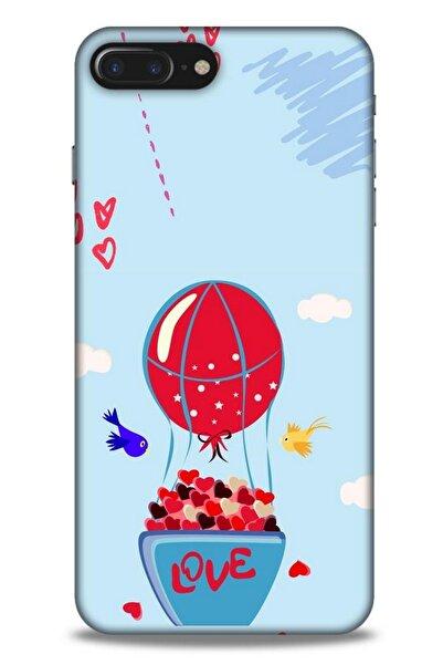 Lopard Apple Iphone 8 Plus Kılıf Hediyelik Seri Sevgililer Günü (8) 14 Şubat Baskılı Kılıf
