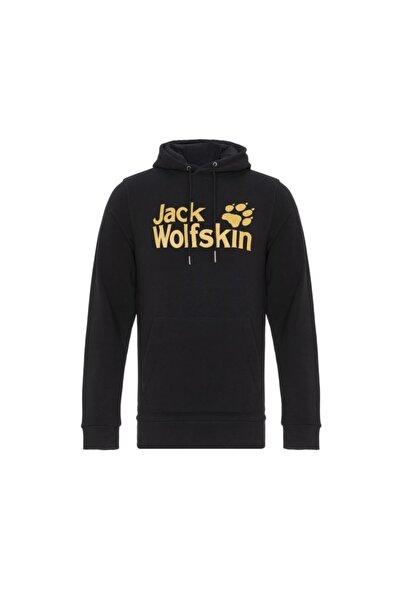 Jack Wolfskin Logo Erkek Sweatshirt