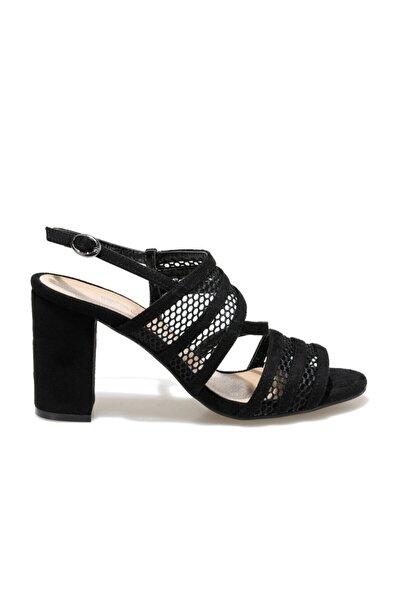 Butigo Pine Siyah Kadın Topuklu Ayakkabı