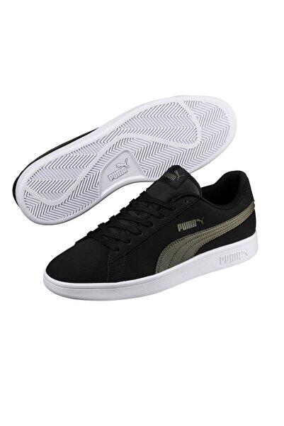 Puma Smash V2 Buck Siyah Erkek Sneaker Ayakkabı