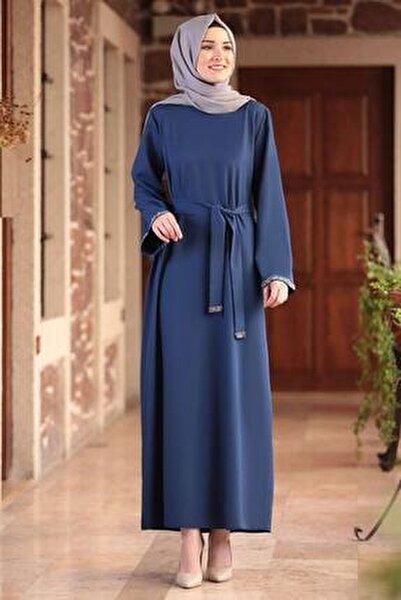 Kadın Indigo Aksa Tesettür Elbise