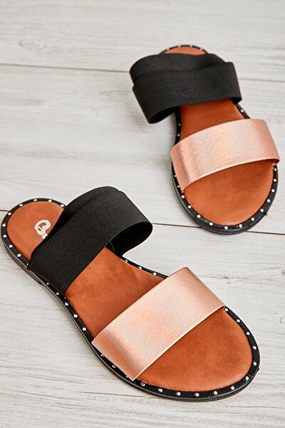 Bambi Rose Kadın Sandalet L0647160444