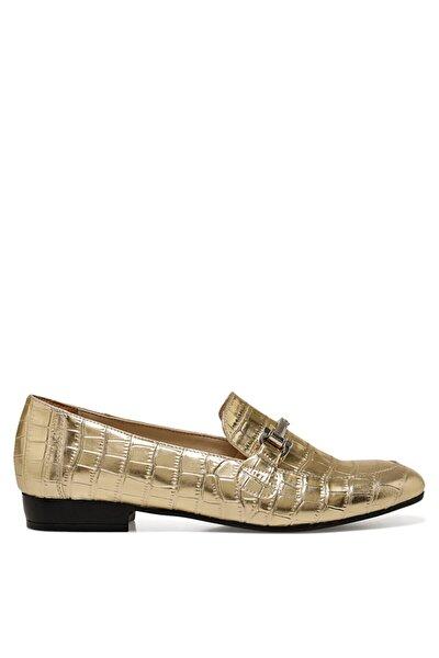 Nine West Komı Altın Kadın Loafer Ayakkabı